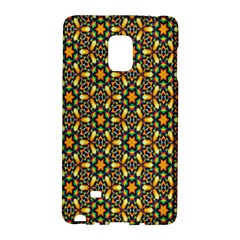 Caleidoskope Star Glass Flower Floral Color Gold Galaxy Note Edge by Alisyart