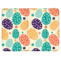 Egg Flower Floral Circle Orange Purple Blue Samsung Galaxy Tab 7  P1000 Flip Case
