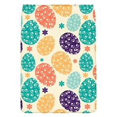 Egg Flower Floral Circle Orange Purple Blue Flap Covers (s)
