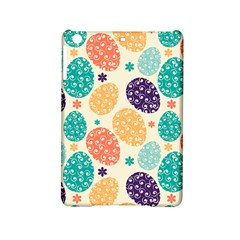 Egg Flower Floral Circle Orange Purple Blue Ipad Mini 2 Hardshell Cases
