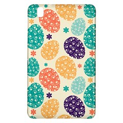 Egg Flower Floral Circle Orange Purple Blue Samsung Galaxy Tab Pro 8 4 Hardshell Case