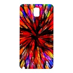 Color Batik Explosion Colorful Samsung Galaxy Note 3 N9005 Hardshell Back Case by Amaryn4rt