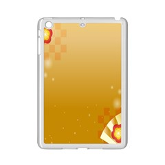 Flower Arrangements Season Floral Orange Ipad Mini 2 Enamel Coated Cases