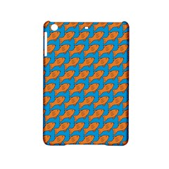 Fish Sea Beach Swim Orange Blue Ipad Mini 2 Hardshell Cases