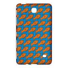 Fish Sea Beach Swim Orange Blue Samsung Galaxy Tab 4 (7 ) Hardshell Case