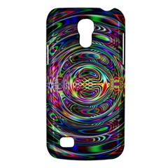 Wave Line Colorful Brush Particles Galaxy S4 Mini by Amaryn4rt