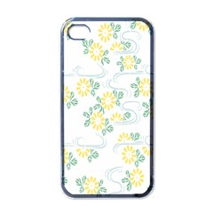 Flower Arrangements Season Sunflower Apple Iphone 4 Case (black)