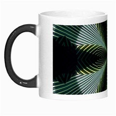 Lines Abstract Background Morph Mugs by Amaryn4rt