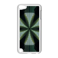 Lines Abstract Background Apple Ipod Touch 5 Case (white) by Amaryn4rt