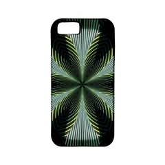 Lines Abstract Background Apple Iphone 5 Classic Hardshell Case (pc+silicone) by Amaryn4rt