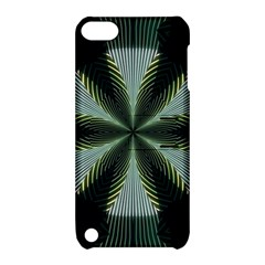 Lines Abstract Background Apple Ipod Touch 5 Hardshell Case With Stand by Amaryn4rt