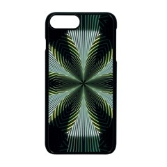 Lines Abstract Background Apple Iphone 7 Plus Seamless Case (black) by Amaryn4rt