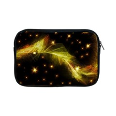 Particles Vibration Line Wave Apple Ipad Mini Zipper Cases by Amaryn4rt
