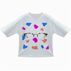 Glasses Blue Pink Brown Infant/toddler T Shirts