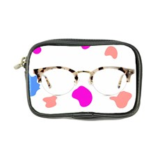 Glasses Blue Pink Brown Coin Purse