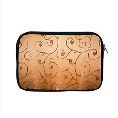 Texture Material Textile Gold Apple Macbook Pro 15  Zipper Case by Amaryn4rt