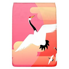 Goose Swan Pink Orange White Animals Fly Flap Covers (l)