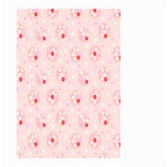 Flower Arrangements Season Pink Small Garden Flag (two Sides)