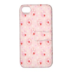 Flower Arrangements Season Pink Apple Iphone 4/4s Hardshell Case With Stand