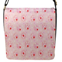 Flower Arrangements Season Pink Flap Messenger Bag (s)