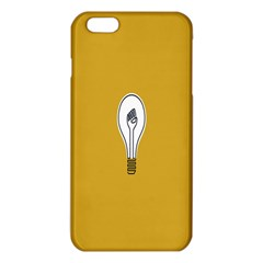 Idea Lamp White Orange Iphone 6 Plus/6s Plus Tpu Case