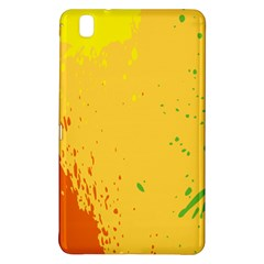 Paint Stains Spot Yellow Orange Green Samsung Galaxy Tab Pro 8 4 Hardshell Case