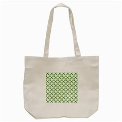 Scissor Green Tote Bag (cream)