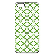Scissor Green Apple Iphone 5 Seamless Case (black)