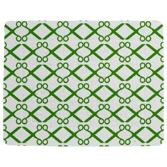 Scissor Green Jigsaw Puzzle Photo Stand (rectangular)