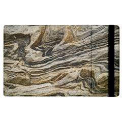 Rock Texture Background Stone Apple Ipad 2 Flip Case by Amaryn4rt