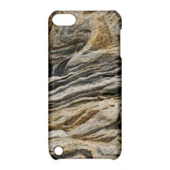 Rock Texture Background Stone Apple Ipod Touch 5 Hardshell Case With Stand by Amaryn4rt