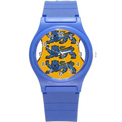 Lesser Arms Of Estonia Round Plastic Sport Watch (s) by abbeyz71