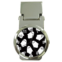 Ghost Halloween Pattern Money Clip Watches
