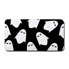 Ghost Halloween Pattern Medium Bar Mats by Amaryn4rt