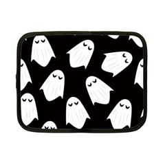 Ghost Halloween Pattern Netbook Case (small)