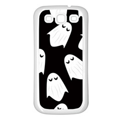Ghost Halloween Pattern Samsung Galaxy S3 Back Case (white) by Amaryn4rt