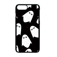 Ghost Halloween Pattern Apple Iphone 7 Plus Seamless Case (black) by Amaryn4rt