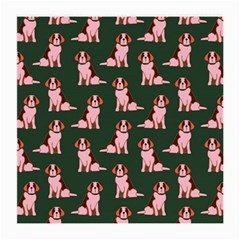 Dog Animal Pattern Medium Glasses Cloth (2 Side) by Amaryn4rt