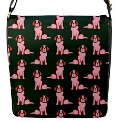 Dog Animal Pattern Flap Messenger Bag (s)