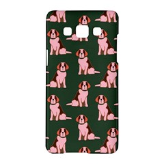 Dog Animal Pattern Samsung Galaxy A5 Hardshell Case  by Amaryn4rt