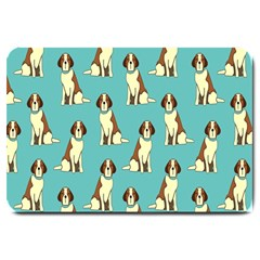 Dog Animal Pattern Large Doormat