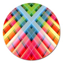 Graphics Colorful Colors Wallpaper Graphic Design Magnet 5  (round) by Amaryn4rt
