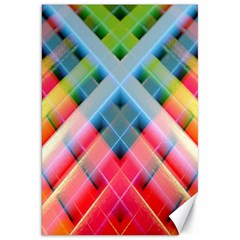Graphics Colorful Colors Wallpaper Graphic Design Canvas 20  X 30   by Amaryn4rt