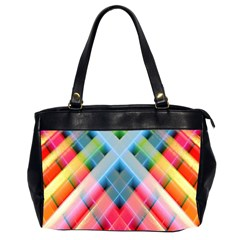 Graphics Colorful Colors Wallpaper Graphic Design Office Handbags (2 Sides)  by Amaryn4rt