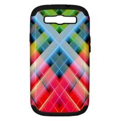 Graphics Colorful Colors Wallpaper Graphic Design Samsung Galaxy S Iii Hardshell Case (pc+silicone) by Amaryn4rt