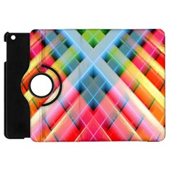 Graphics Colorful Colors Wallpaper Graphic Design Apple Ipad Mini Flip 360 Case by Amaryn4rt