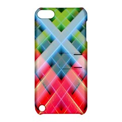 Graphics Colorful Colors Wallpaper Graphic Design Apple Ipod Touch 5 Hardshell Case With Stand by Amaryn4rt