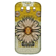 Power To The Big Flower Samsung Galaxy S3 S Iii Classic Hardshell Back Case by pepitasart