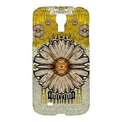 Power To The Big Flower Samsung Galaxy S4 I9500/i9505 Hardshell Case by pepitasart