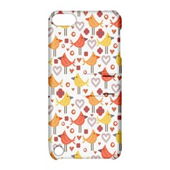 Animal Pattern Happy Birds Seamless Pattern Apple Ipod Touch 5 Hardshell Case With Stand by Amaryn4rt